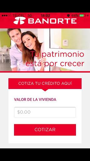 Hipoteca en Línea Banorte for PC