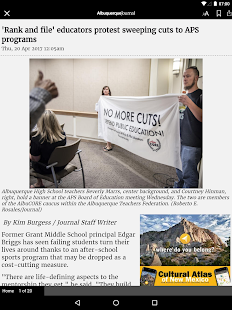 Albuquerque Journal Newspaper- screenshot thumbnail