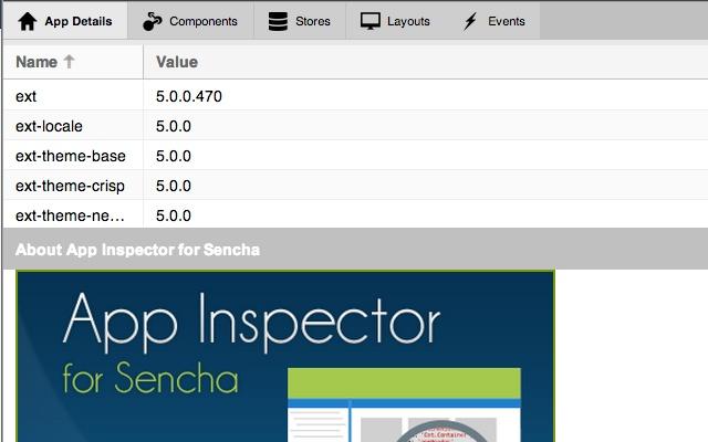 App Inspector for Sencha™