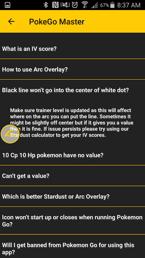 IV Calculator - PokeGo Master- screenshot