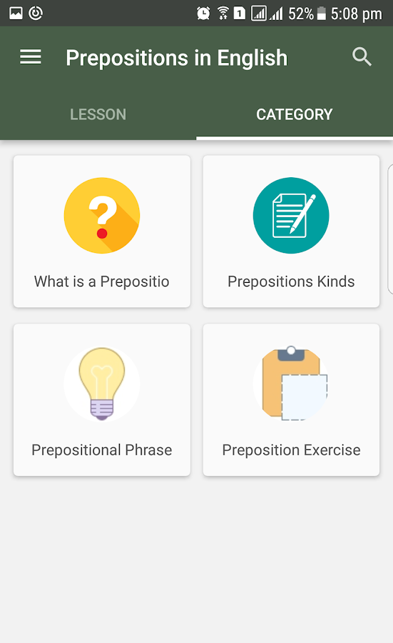 English grammar preposition android apps on google play english grammar preposition screenshot ccuart Gallery