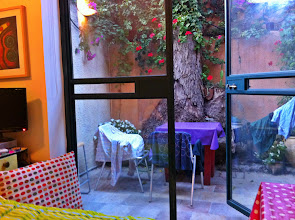Photo: Our Airbnb apartment at 16 Shimshon Street in Baka neighborhood of Jerusalem.