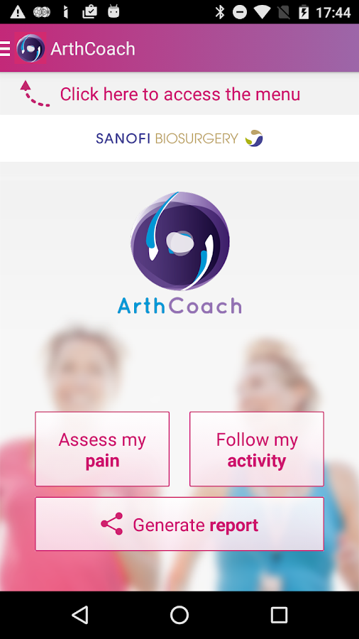 ArthCoach- screenshot