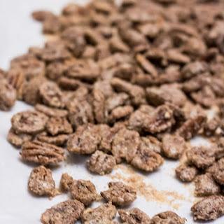 Cinnamon Sugared Pecans