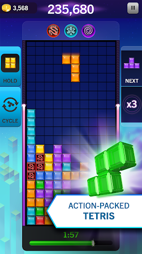 TETRIS Blitz screenshot 1