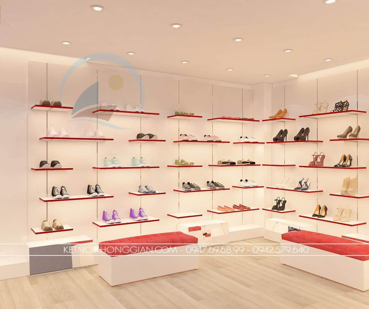 thiết kế shop giày dép 1