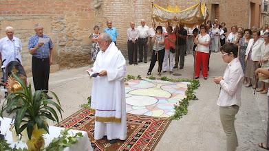 Photo: Segon altar: Benedicció de la part baixa del poble.