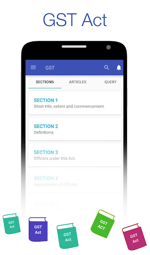 GST Udyog - Rate & HSN Finder + GST Act & Rules 10.5 screenshots 5
