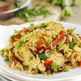 Southern Chicken and Rice Dish