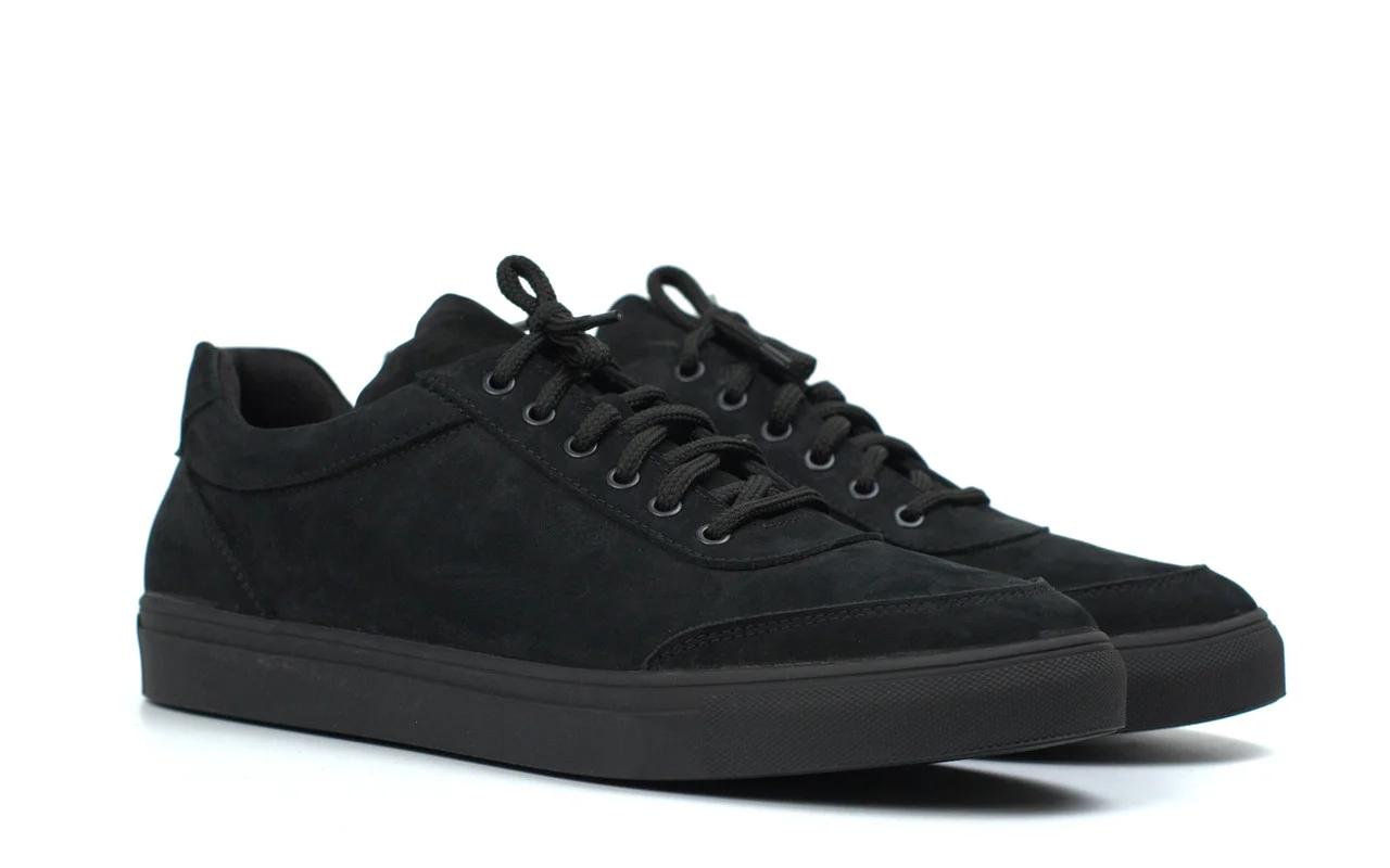 Кроссовки мужские из нубука демисезонные обувь больших размеров Rosso Avangard Ada Black Nub TPR BS Подробнее: