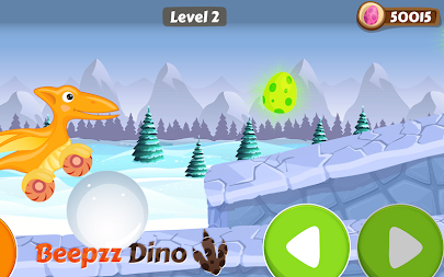 Racing game for Kids - Beepzz Dinosaur APK screenshot thumbnail 4