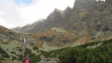 Photo: Extra tocht met dagrugzak langs het bergmeertje Velické Pleso door de Kvetnica vallei