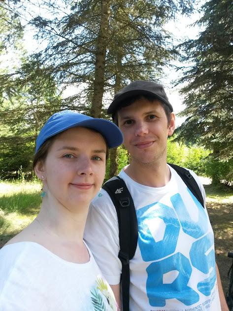 Wokół jeziora Blizno