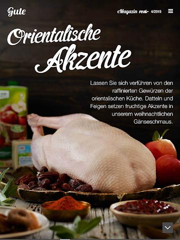 "android real, - e-magazine ""Das Gute"" Screenshot 1"