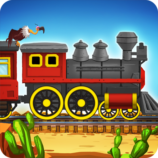 Western Train Driving Race (game)