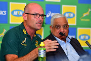 Springbok head coach Jacques Nienaber during the announcement media conference at Southern Sun Pretoria on January 24, 2020 in Pretoria, South Africa.