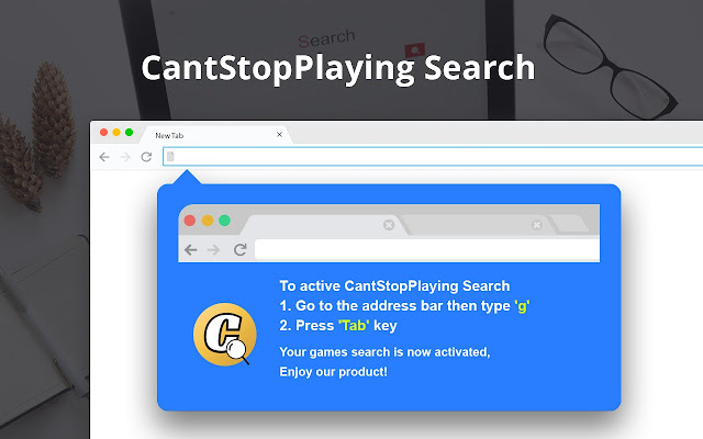 CantStopPlaying Search