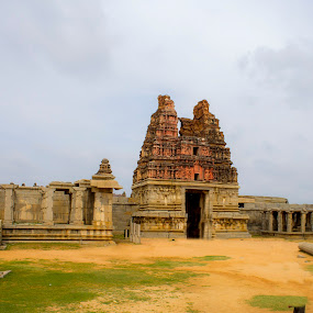 The Ruins of Hampi by Chandrasekhar Yanamandra - Buildings & Architecture Public & Historical ( temple, monument, history, structure )