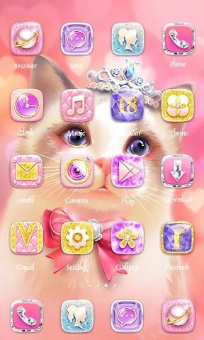 android glitter Theme - ZERO Launcher Screenshot 1