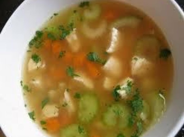 Hearty Chicken & Rice Soup Recipe