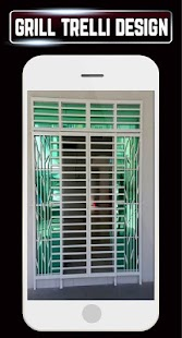 Home Grill Trellis Window Designs Metal Door Ideas - náhled