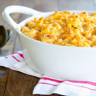 Greek Yogurt Macaroni and Cheese.