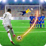 Shoot Goal Soccer Icon