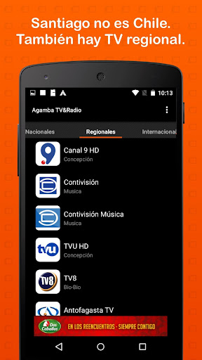 Agamba TV & Radio 3.2 screenshots 2