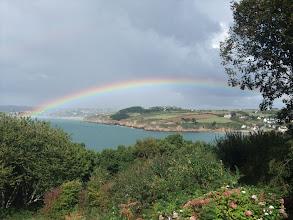 Photo: with a rainbow!