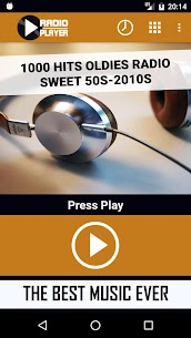 Live 1000 Hits Oldies Radio Sweet 50s-2000s 2.0 APK Mod for Android 1