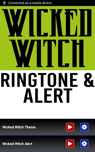 Wicked Witch Ringtone Alert