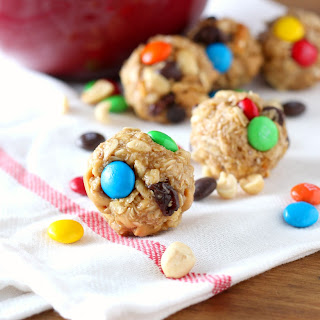 Peanut Butter Chocolate Trail Mix Bites