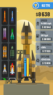 Rocket Sky! (MOD, Unlimited Money) 2