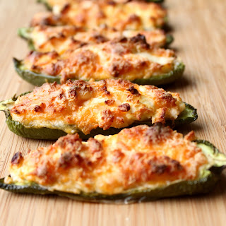 Roasted Jalapeno Poppers.