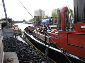 Photo: De boot ligt weer aardig recht zo.