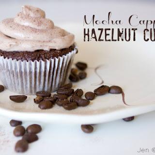 Mocha Cappuccino Hazelnut Cupcakes.