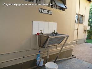 Photo: Wasgoedtrog maar geen wasgoeddrade