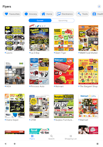 reebee: Flyers, Deals & Shopping List 4.5.8 screenshots 7