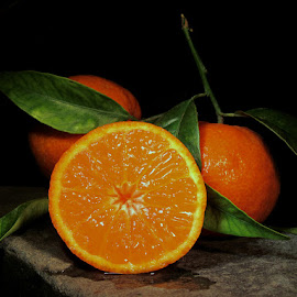 SWEET CLEMENTINES  by Karen Tucker - Food & Drink Fruits & Vegetables ( stilllife, fresh fruit, oranges, clementines, fruit, healthy food, still life )