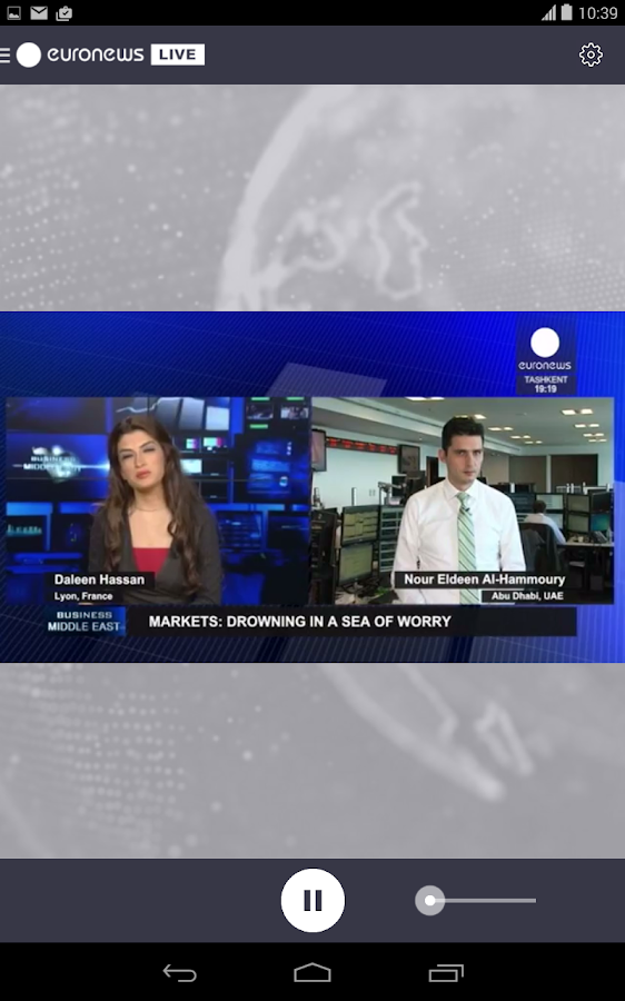 euronews LIVE- screenshot