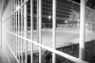 Photo: De pequeño quedé enamorado de las líneas de fuga. Mientras estiro.