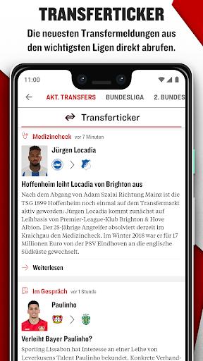 kicker Fußball News 6.6.0 screenshots 7