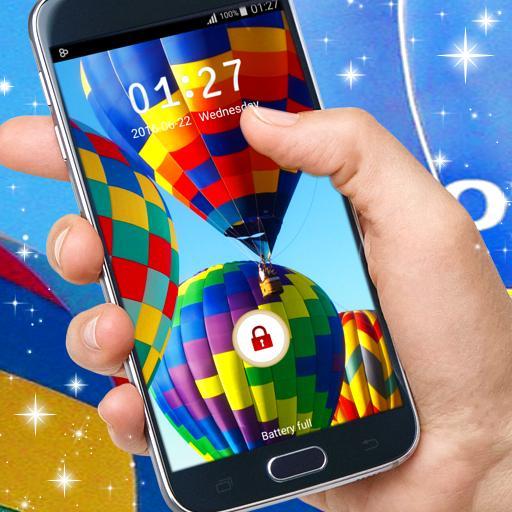 锁定屏幕的三星Galaxy 個人化 App LOGO-硬是要APP