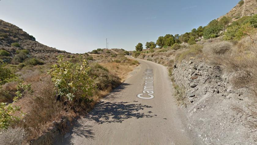 Camino de Las Marinas, en una imagen de archivo.