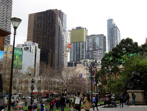 Photo: Melbourne - Swanston St.