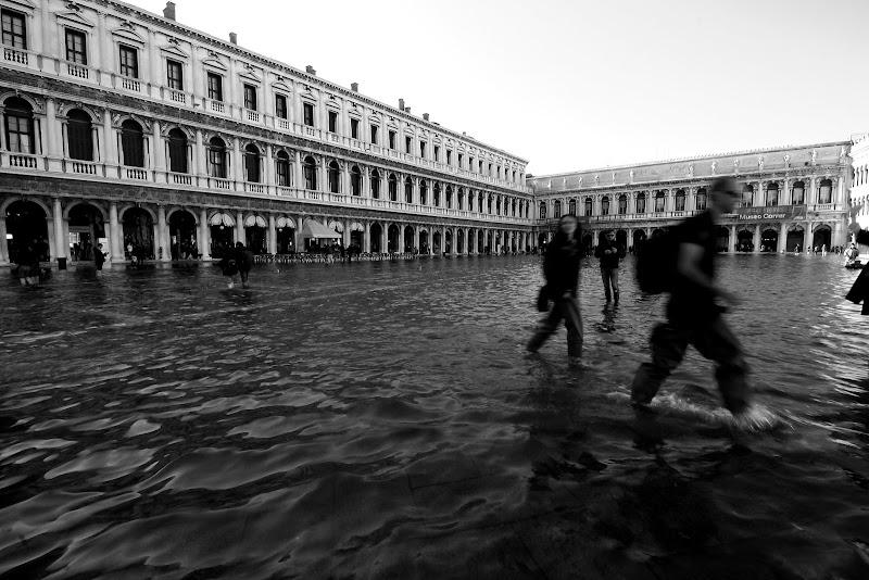 Acqua alta a San Marco di Andrea F