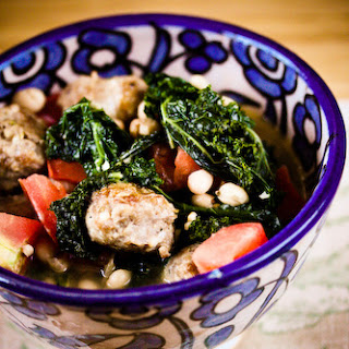 Kale, Sausage and White Bean Stew