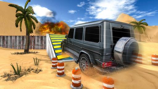 4X4 SUV Desert Jeep Driving Stunts Adventure 2018 screenshot 13