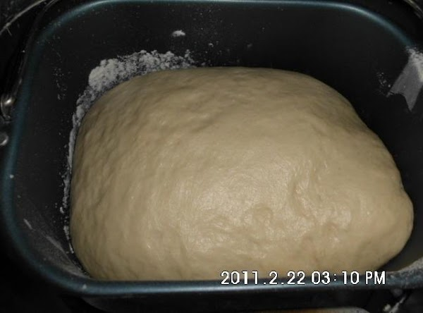 Place wet ingredients in bread pan, then dry ones adding yeast last on top...