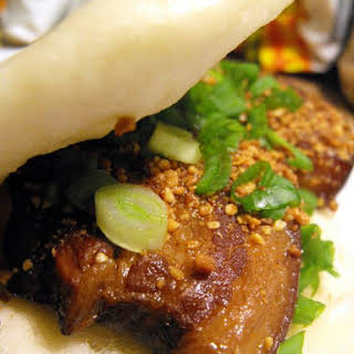 Gua Bao- Taiwanese Braised Pork in Sliced Buns.